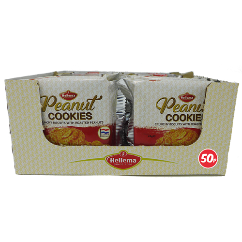 Hellema Peanut Cookies 43g Packet (Netherlands)
